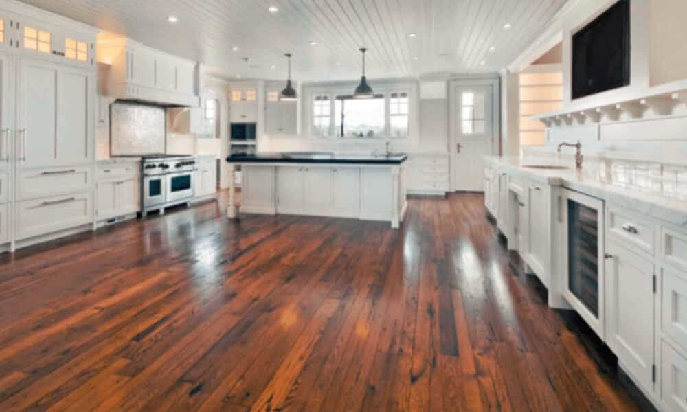 custom stained floor example