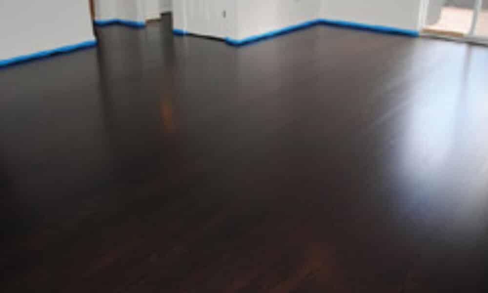 custom stained floor example