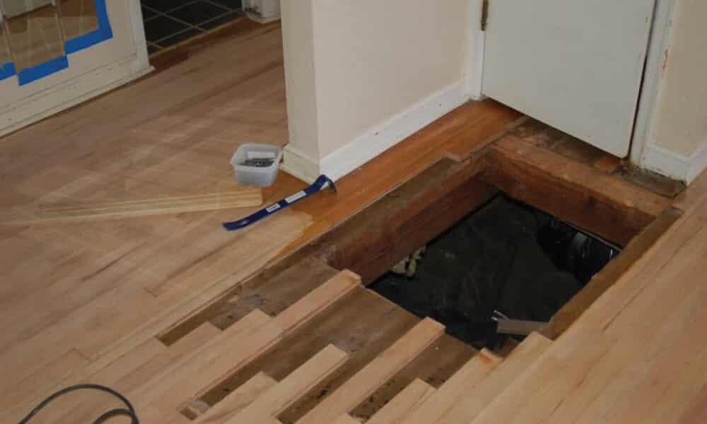 Hardwood floor refinishing experts trained to deliver for Replacing hardwood floors